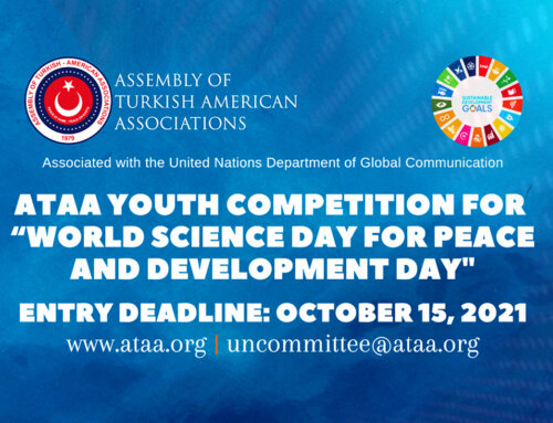"""ATAA Youth Competition for  """"World Science Day for Peace and Development Day"""""""